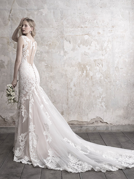 MJ459 (Back) Wedding                                          dress by Madison James