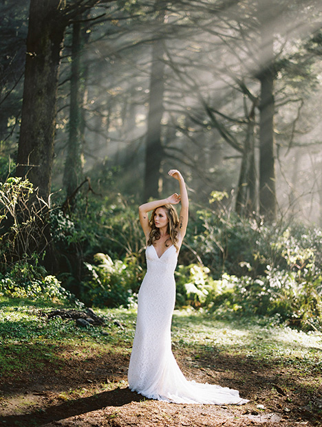 F121-Selena Wedding                                          dress by Wilderly Bride