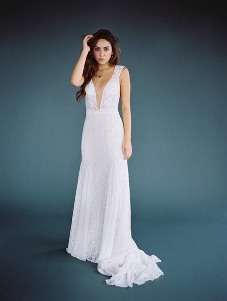 F117-Nadia Wedding                                          dress by Wilderly Bride