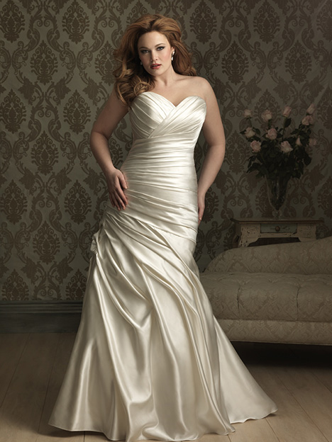 W284 Wedding                                          dress by Allure Women