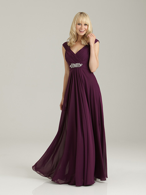 1334 Bridesmaids                                      dress by Allure Bridesmaids