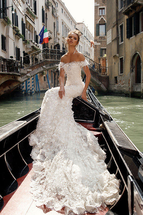 1407 Wedding                                          dress by Julie Vino Haute Couture