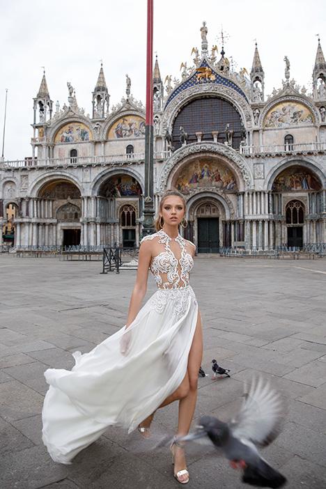 1408 Wedding                                          dress by Julie Vino