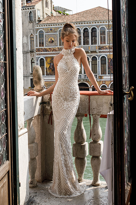 1410 Wedding                                          dress by Julie Vino Haute Couture