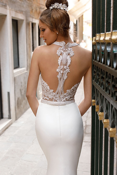 1412 (back) Wedding                                          dress by Julie Vino Haute Couture