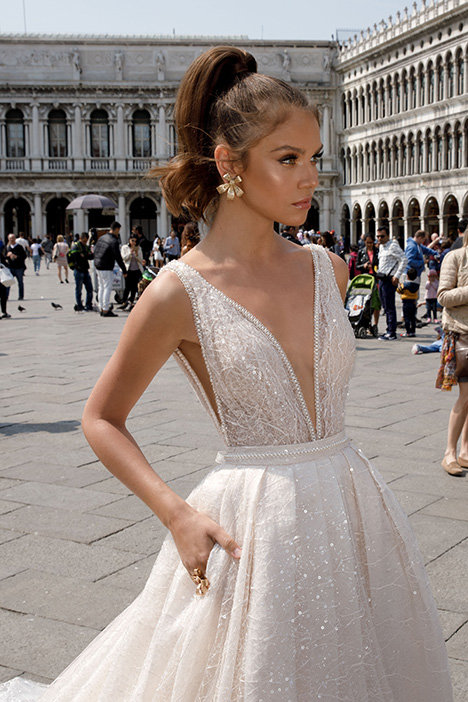 1413 Wedding                                          dress by Julie Vino Haute Couture