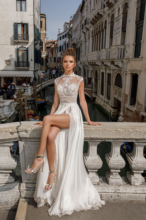 1414 Wedding                                          dress by Julie Vino Haute Couture
