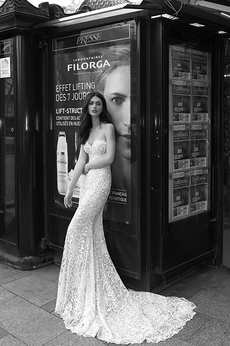 1601 Wedding                                          dress by Julie Vino Haute Couture