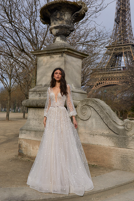 1606 Wedding                                          dress by Julie Vino Haute Couture