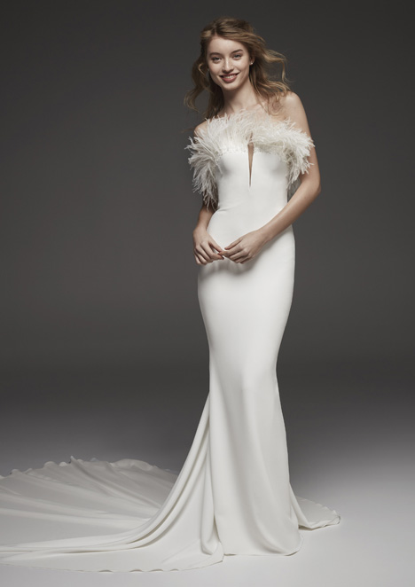 Heras Wedding                                          dress by Pronovias Atelier