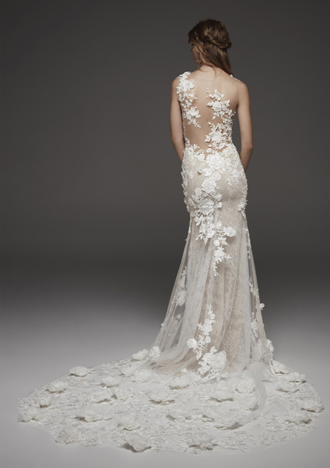 Hydra (back) Wedding                                          dress by Pronovias Atelier