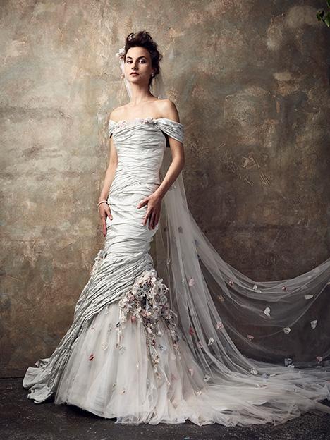 Babylon Wedding                                          dress by Ian Stuart