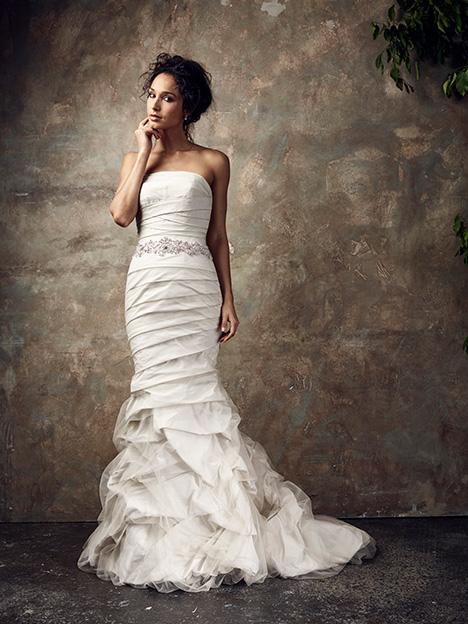 Bardot Wedding                                          dress by Ian Stuart