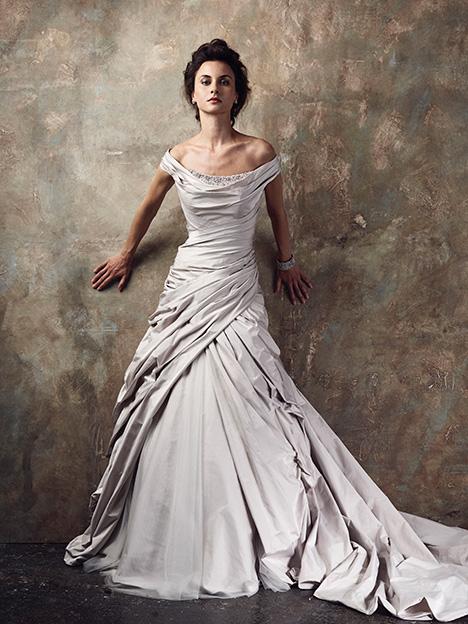 Denurve Wedding                                          dress by Ian Stuart
