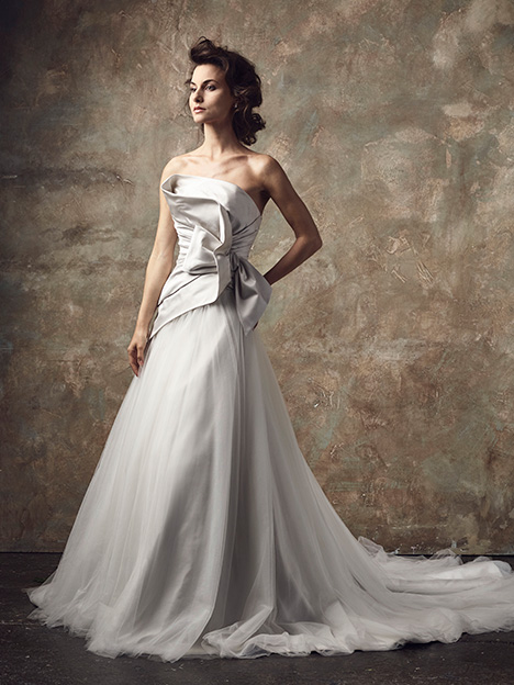Devant Wedding                                          dress by Ian Stuart