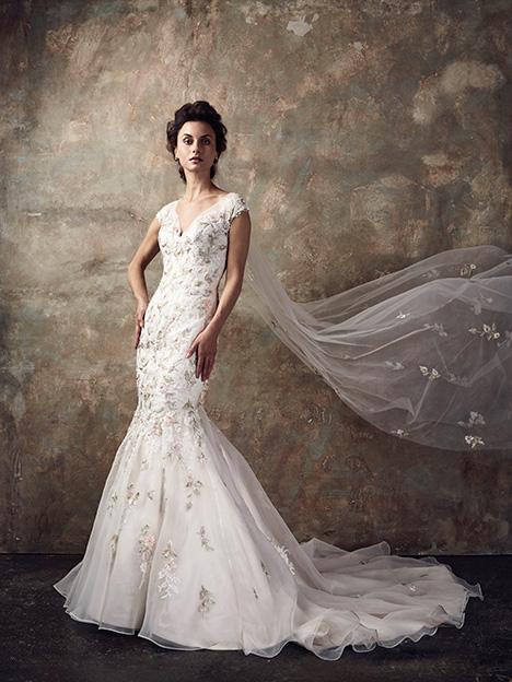 Evergreen Wedding                                          dress by Ian Stuart