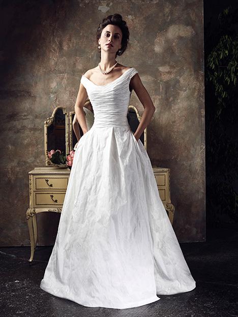 Georgy Wedding                                          dress by Ian Stuart