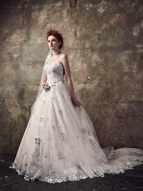 Le Jardin Wedding                                          dress by Ian Stuart