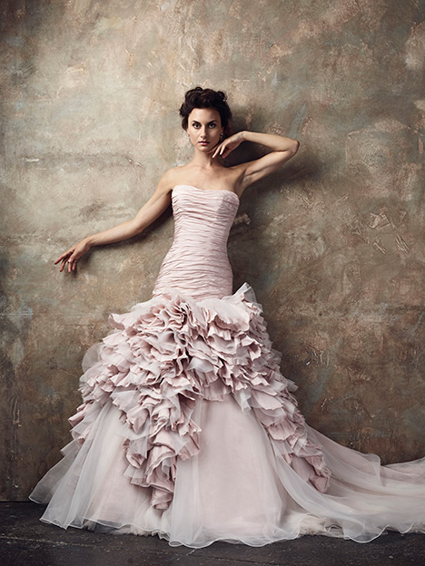 Mardi Gras Wedding                                          dress by Ian Stuart