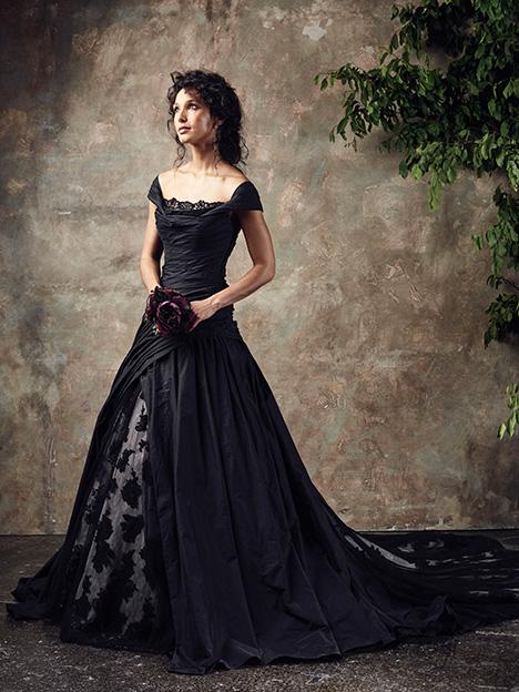 Opera Noir Wedding                                          dress by Ian Stuart