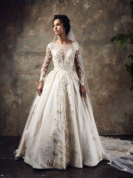 Spellbound Wedding                                          dress by Ian Stuart
