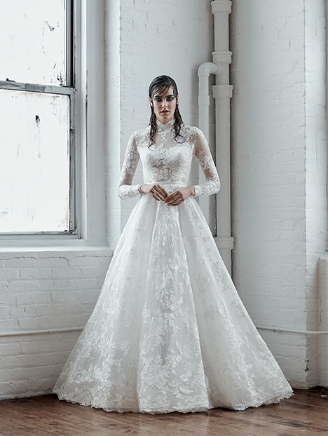 Amparo Wedding                                          dress by Isabelle Armstrong