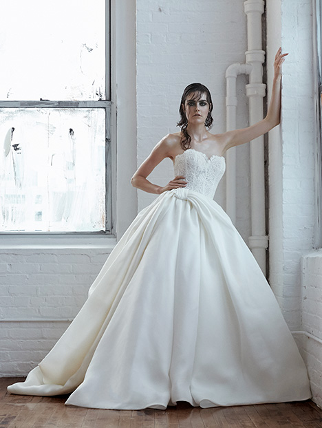 Antonia Wedding                                          dress by Isabelle Armstrong