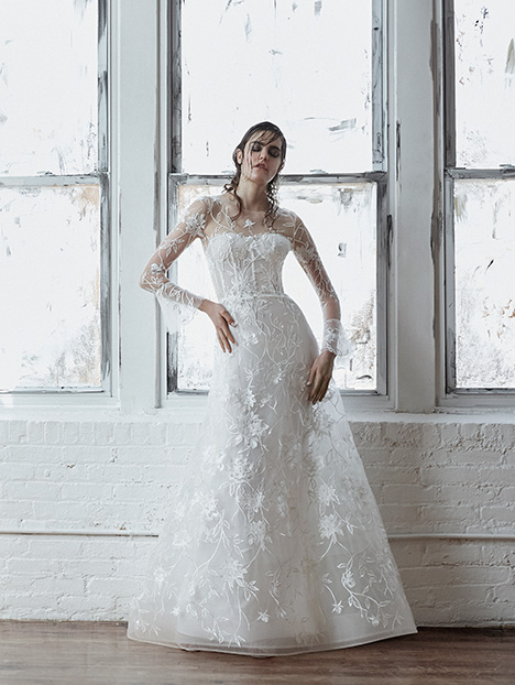 Clara gown from the 2018 Isabelle Armstrong collection, as seen on dressfinder.ca