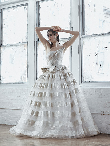 Mercedes Wedding                                          dress by Isabelle Armstrong