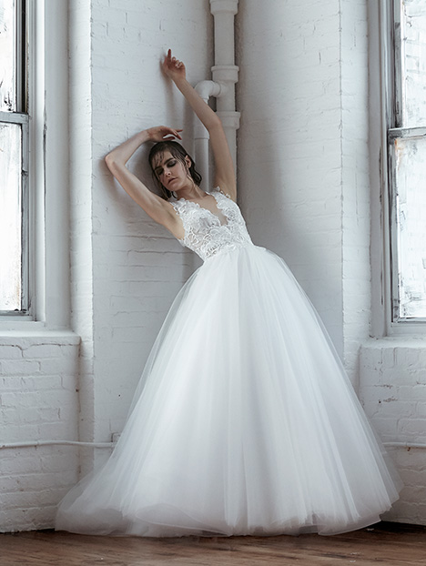 Nieves Wedding                                          dress by Isabelle Armstrong