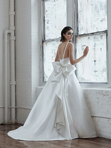 Renata (back) Wedding                                          dress by Isabelle Armstrong