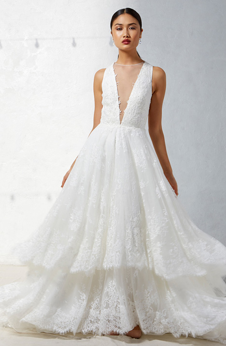 Halle Wedding                                          dress by Ivy & Aster