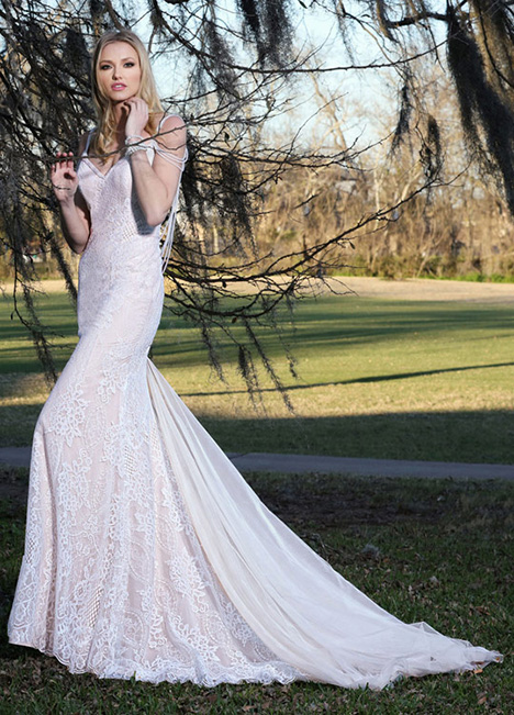 10415 Wedding                                          dress by Ashley & Justin Bride