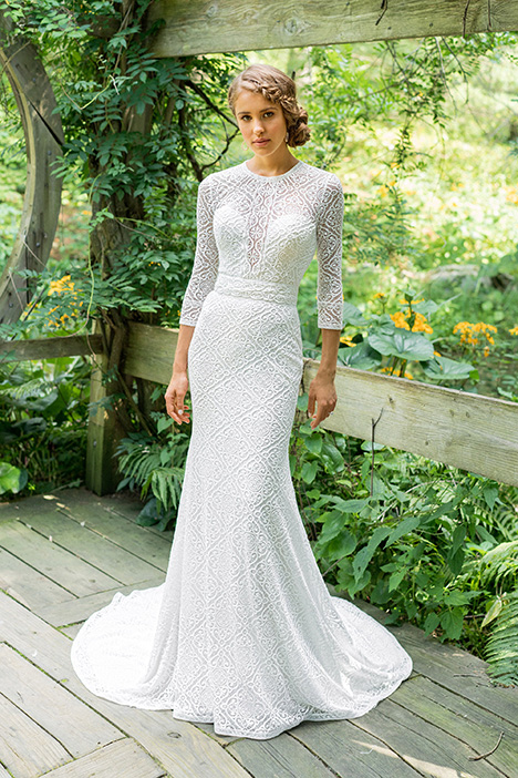 66023 Wedding                                          dress by Lillian West