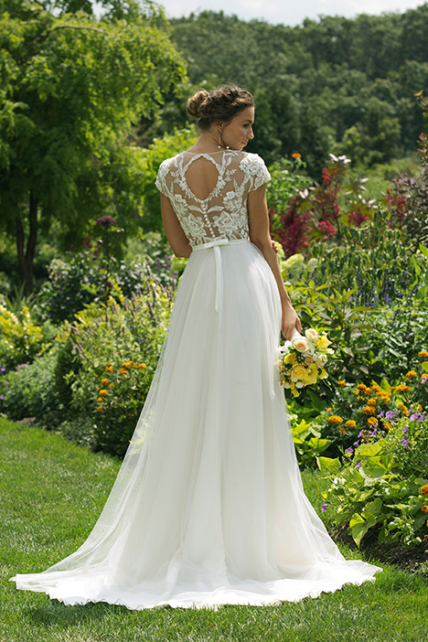 11025 (back) Wedding                                          dress by Sweetheart
