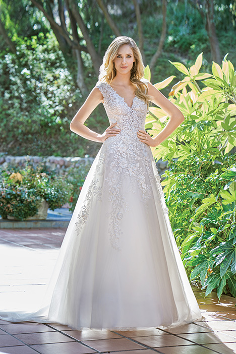 F201065 Wedding                                          dress by Jasmine Collection