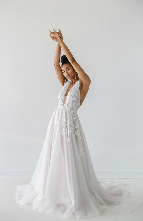 Eva Wedding                                          dress by Ivy & Aster