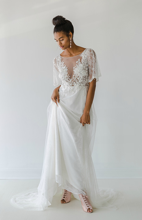 Gillian Wedding dress by Ivy & Aster