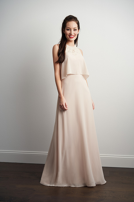 Style P206057 gown from the 2018 Jasmine Bridesmaids collection, as seen on dressfinder.ca