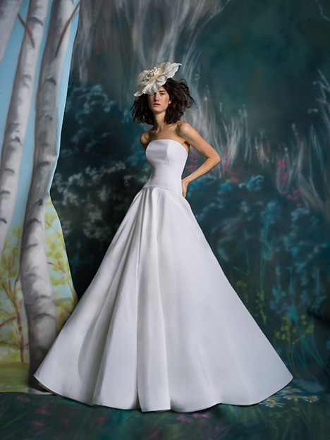 Bailey Wedding                                          dress by Isabelle Armstrong