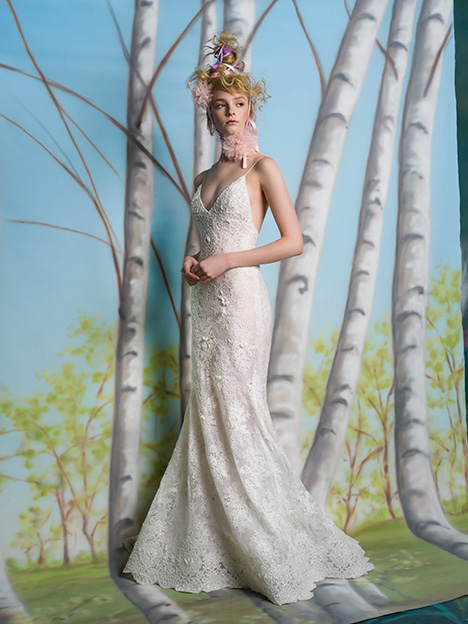 Sawyer Wedding                                          dress by Isabelle Armstrong