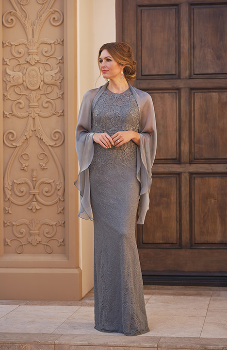 K208060 (+ Shawl) Mother of the Bride dress by Jade Couture