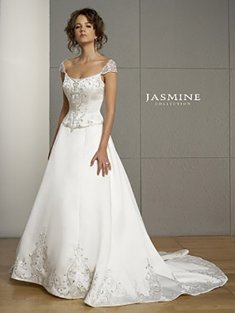 F813 Wedding                                          dress by Jasmine Collection