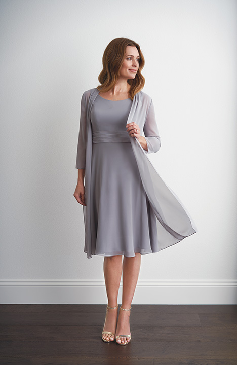 M200056 (+ Jacket) Mother of the Bride                              dress by Jasmine Black Label