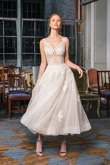 99010 Wedding                                          dress by Justin Alexander Signature