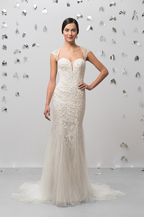 99011 Wedding                                          dress by Justin Alexander Signature