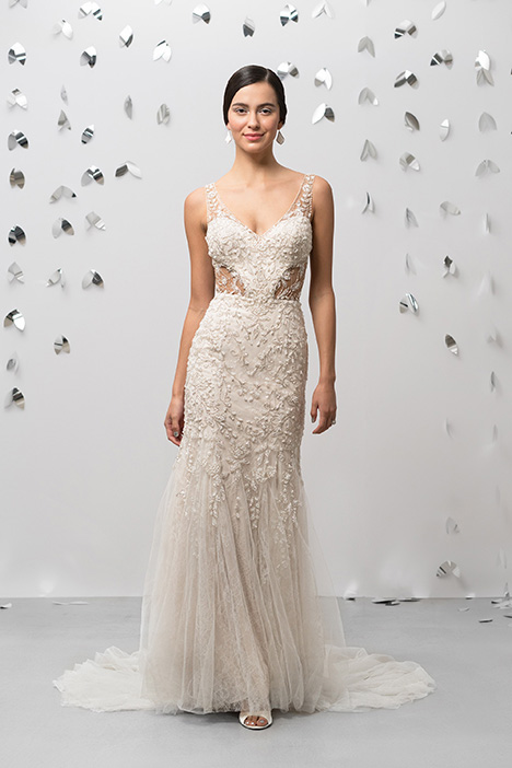 99013 Wedding                                          dress by Justin Alexander Signature