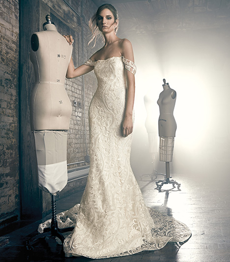 Elise Wedding                                          dress by Sareh Nouri