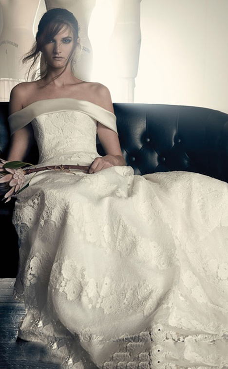 Elisabeth Wedding                                          dress by Sareh Nouri