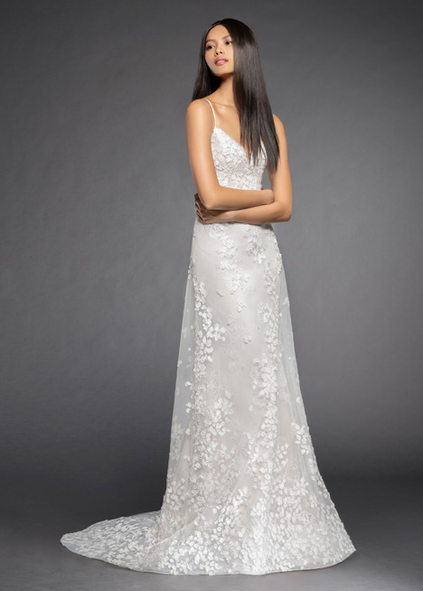 Milena Wedding                                          dress by Lazaro